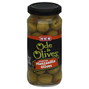 H-E-B Ode to Olives Stuffed Manzanilla Green Olives