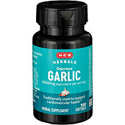 H-E-B Odor Controlled Garlic 1000 mg Softgels
