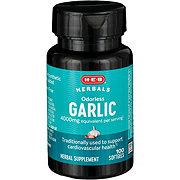 H-E-B Odorless Garlic Extract 1000 mg Softgels