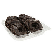 H-E-B Old Fashioned Chocolate Glazed Donuts
