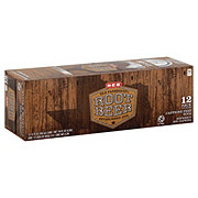 H-E-B Old Fashioned Root Beer Soda 12 oz Cans