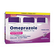 H-E-B Omepraozle, Wildberry Mint Flavor