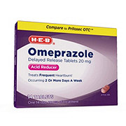H-E-B Omeprazole Delayed Release 20 mg Tablets
