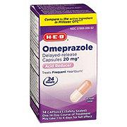 H-E-B Omeprazole Magnesium Acid Reducer Capsules