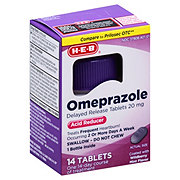 H-E-B Omeprazole, Wildberry Mint Flavor
