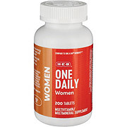 H-E-B One Daily For Women Multivitamin/Multimineral Tablets