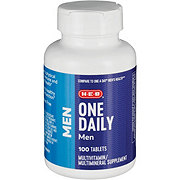 H-E-B One Daily Men's Multivitamin
