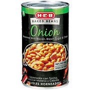 H-E-B Onion Baked Beans