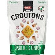 H-E-B Onion & Garlic Premium Croutons