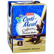 H-E-B Opti-Meal Cafeccino Protein Shake