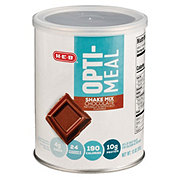 H-E-B Opti-Meal Milk Chocolate Protein Shake Mix