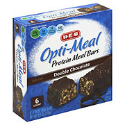 H-E-B Opti-Meal Protein Meal Bars Double Chocolate