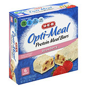 H-E-B Opti-Meal Protein Meal Bars Strawberry