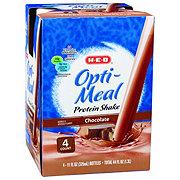H-E-B Opti-Meal Protein Shake Chocolate