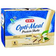 H-E-B Opti-Meal Protein Shake Vanilla