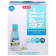 H-E-B Opti-Meal Vanilla Protein Shake 12 pk