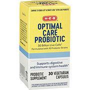 H-E-B Optimal Care Probiotic 30 Billion