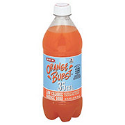 H-E-B Orange Burst 35 Calorie Pure Cane Sugar Soda