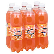 H-E-B Orange Burst Soda 16.9 oz Bottles
