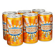 H-E-B Orange Burst Soda 7.5 oz Cans