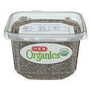 H-E-B Organic Black Chia Seeds