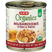 H-E-B Organic Mushrooms Pieces and Stems