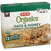 H-E-B Organic Oats & Honey Crunchy Bar