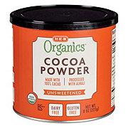 H-E-B Organics 100% Unsweetened Cocoa Powder