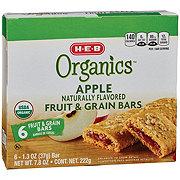 H-E-B Organics Apple Fruit & Grain Bars