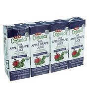 H-E-B Organics Apple Grape Juice Box