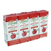 H-E-B Organics Apple Juice 6.75 oz Boxes