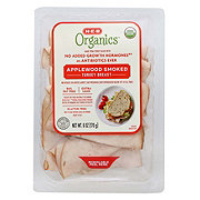 H-E-B Organics Applewood Smoked Turkey Breast