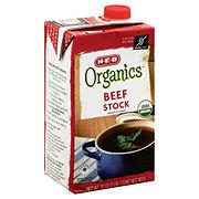 H-E-B Organics Beef Stock