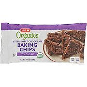 H-E-B Organics Bitter-Sweet Chocolate Baking Chips 70% Cacao