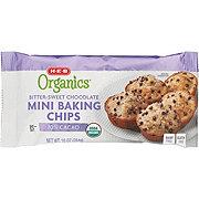H-E-B Organics Bittersweet Chocolate Mini Baking Chips
