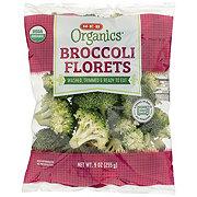 H-E-B Organics Broccoli Florets