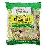 H-E-B Organics Broccoli Slaw Kit