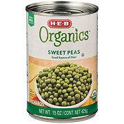 H-E-B Organics Canned Sweet Peas