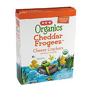H-E-B Organics Cheddar Frogeez Cheese Crackers