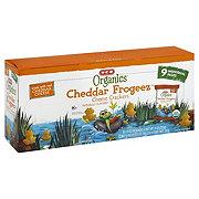 H-E-B Organics Cheddar Frogeez Multipack