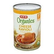 H-E-B Organics Cheese Ravioli in Tomato Sauce