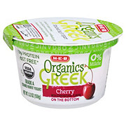 H-E-B Organics Cherry Greek Yogurt