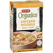 H-E-B Organics Chicken Noodle Soup
