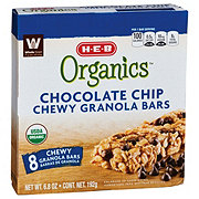 H-E-B Organics Chocolate Chip Chewy Granola Bars
