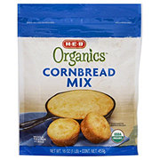 H-E-B Organics Cornbread Mix
