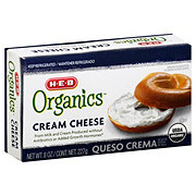H-E-B Organics Cream Cheese Brick