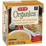 H-E-B Organics Cream of Chicken Condensed Soup