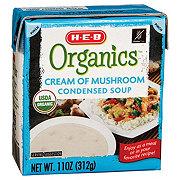 H-E-B Organics Cream of Mushroom Condensed Soup