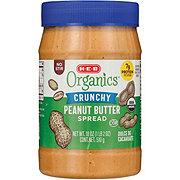 H-E-B Organics Crunchy Peanut Butter