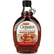 H-E-B Organics Dark Amber Maple Syrup